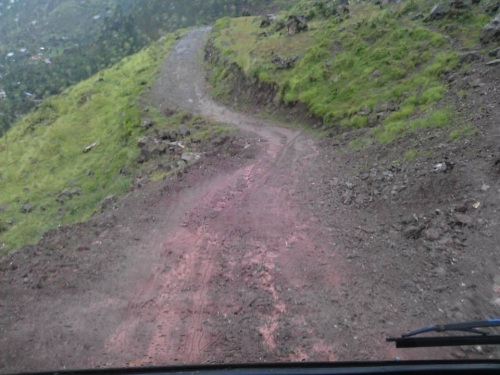 Our jeep track to Domail